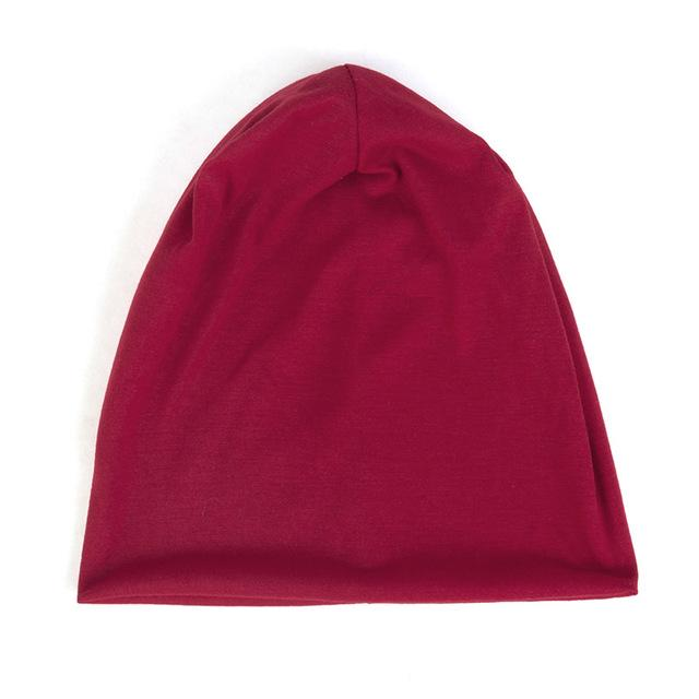 2019 Fashion Slouchy Solid Cotton hat