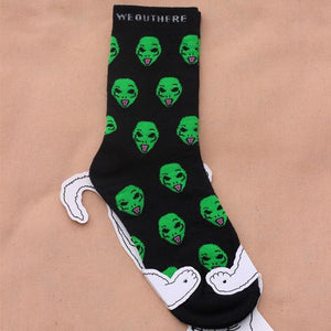 1 Pair New Unisex Cartoon sock
