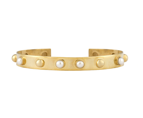 Cyto Bangle - Gold Polished/Gems