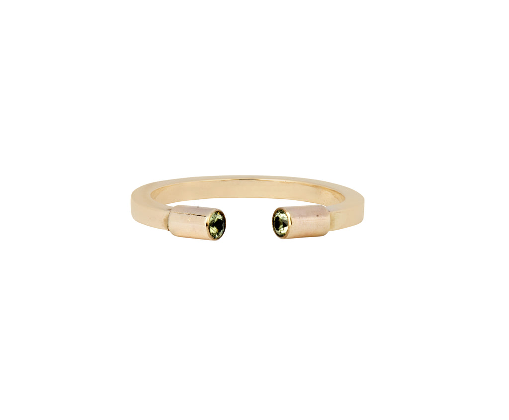 Open Ring - Yellow Gold - Charlotte Valkeniers Design Ltd
