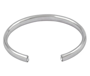 The Zero Cuff - Silver Polished - Charlotte Valkeniers Design Ltd