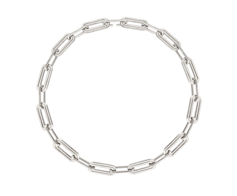 Wave Necklace - Silver Polished - Charlotte Valkeniers Design Ltd