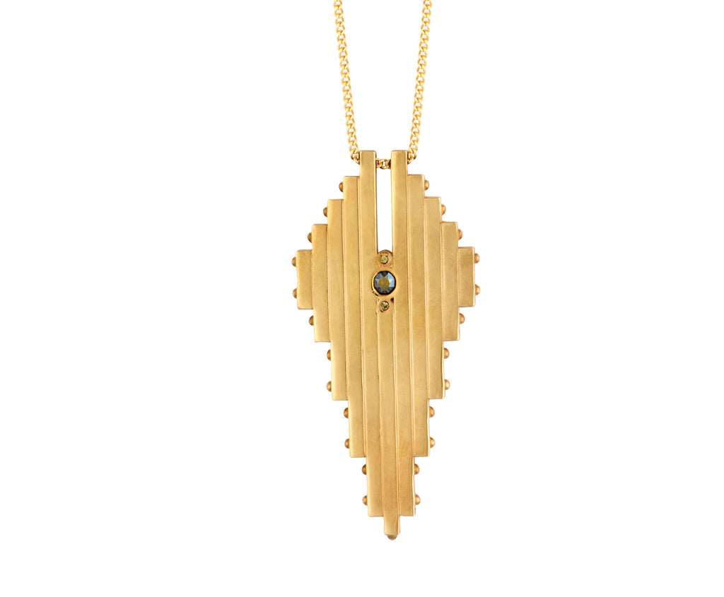 Stylus Pendant - Gold Polished