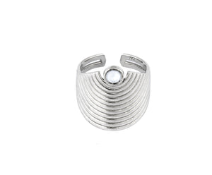 Spectrum Ring - Silver Polished - Charlotte Valkeniers Design Ltd