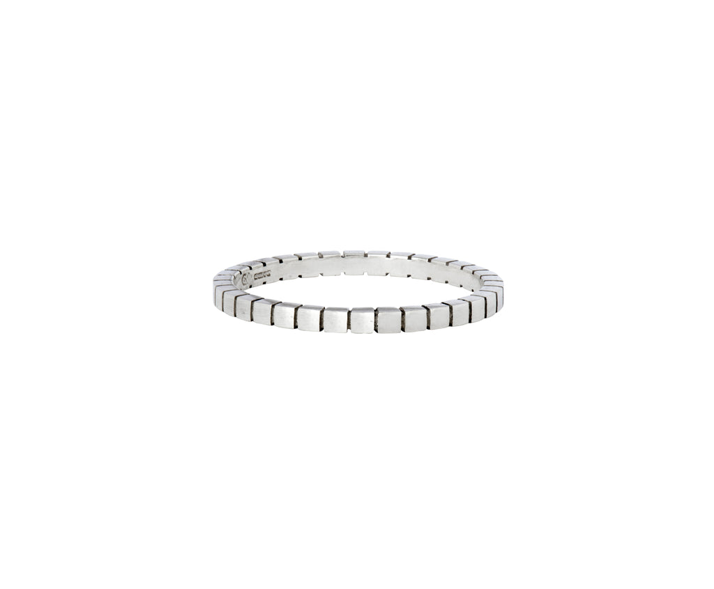Cube Stacking Ring - White Gold - Charlotte Valkeniers Design Ltd