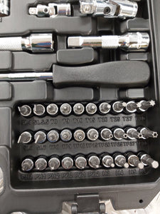 "BOXO 122 Pc 1/4"" & 3/8"" Master Service Socket Set - M-Tool Workshop Supplies"