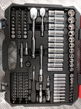 "Load image into Gallery viewer, BOXO 122 Pc 1/4"" & 3/8"" Master Service Socket Set - M-Tool Workshop Supplies"