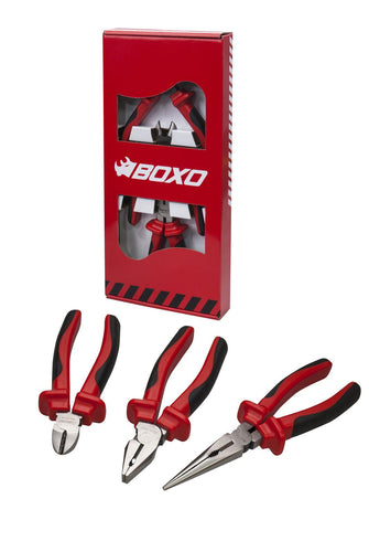 BOXO 3PC PLIER SET