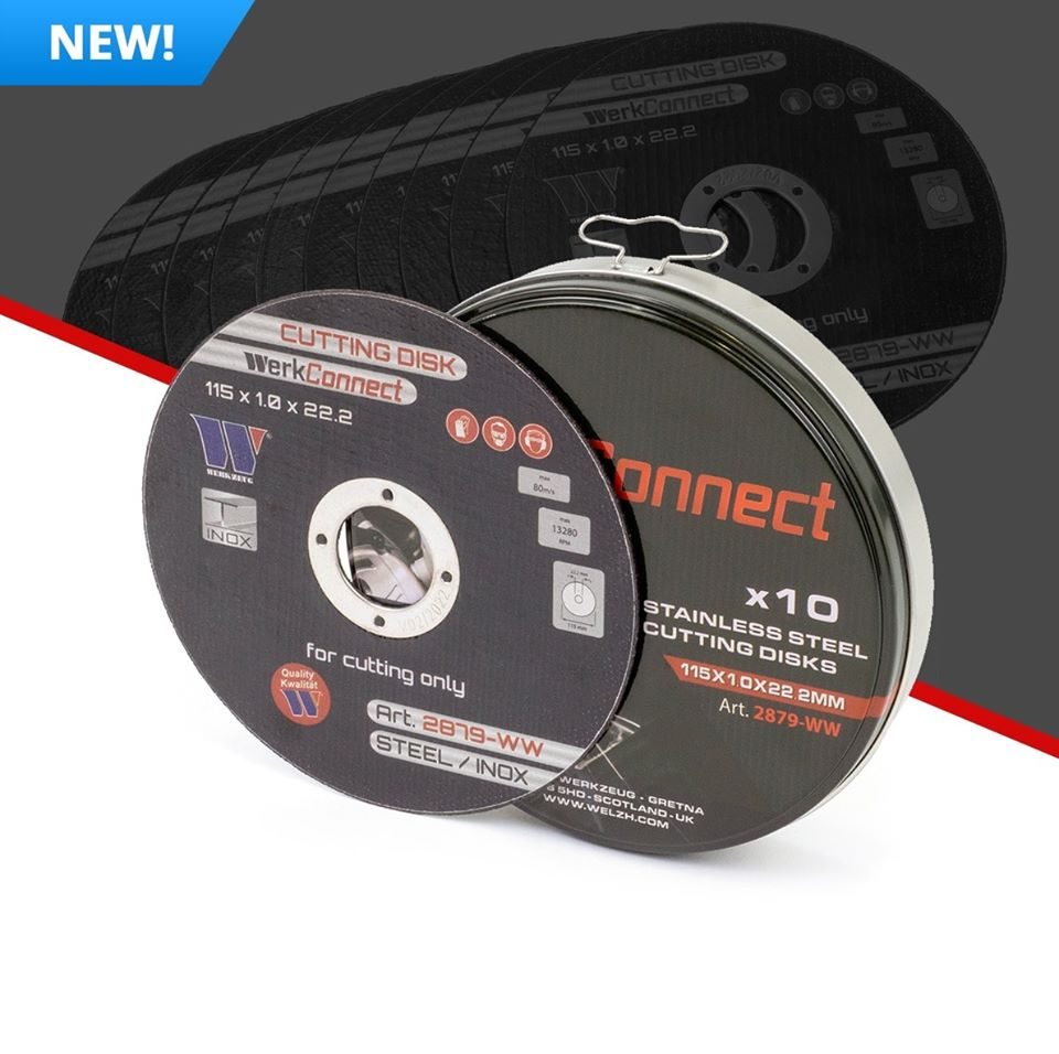 115mm Cutting Discs - M-Tool Workshop Supplies
