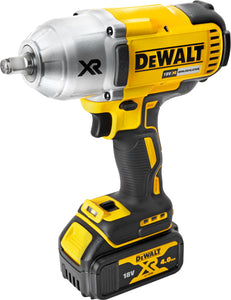 "DEWALT DEWALT 18V 1/2"" BRUSHLESS IMPACT WRENCH (SUPPLIED WITH 2 X 5 AH BATTERIES & CHARGER)"