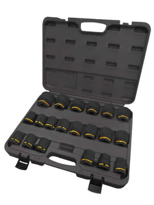 "POWERHAND 3/4"" SHALLOW IMPACT SOCKET SET"