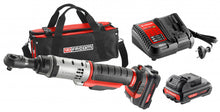 "Load image into Gallery viewer, FACOM 10.8V 3/8"" RATCHET (SUPPLIED WITH 2 X 2AH BATTERIES & CHARGER)"