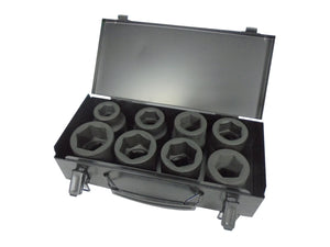 "POWERHAND 1"" IMPACT SOCKET SET - SHALLOW"