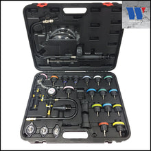 Load image into Gallery viewer, Radiator & Cooling System Pressure Tester Set 24 Pc - M-Tool Workshop Supplies