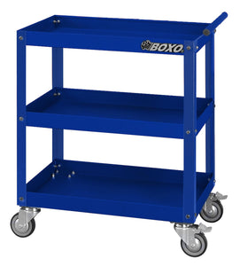 BOXO HEAVY-DUTY 3 TRAY SERVICE CART