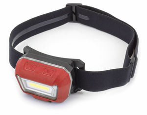 MOTION SENSOR RECHARGEABLE LED HEADLIGHT - M-Tool Workshop Supplies