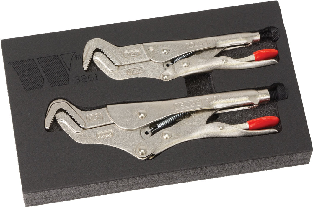 7 & 9'' Parrot Nose Locking Pliers Set