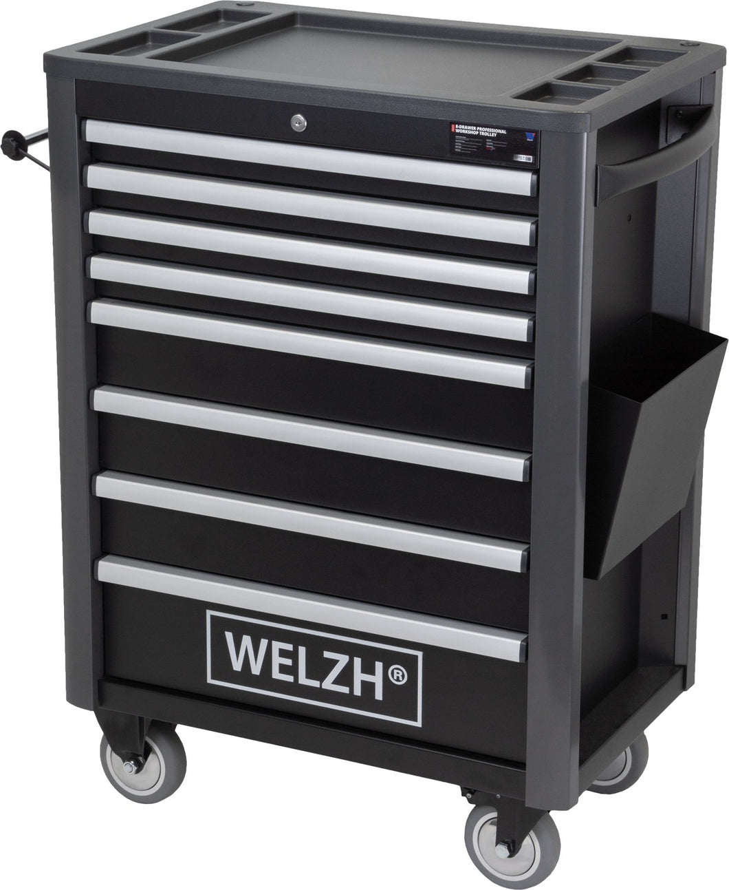 8-Drawer Professional Workshop Trolley