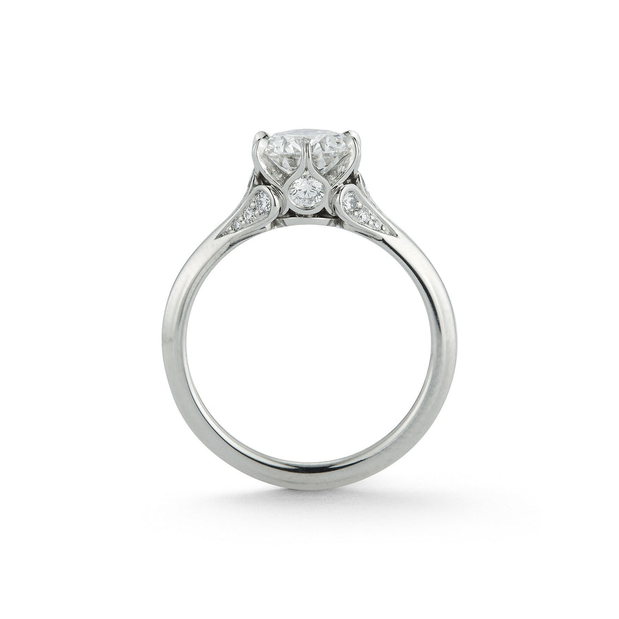 Wildflower Diamond Blossom Embrace Engagement Ring