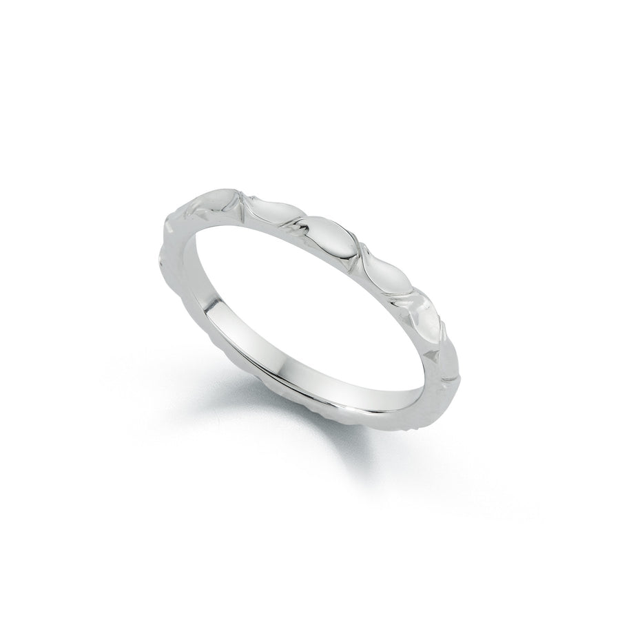 Wildflower Collection Laurel Wedding Band