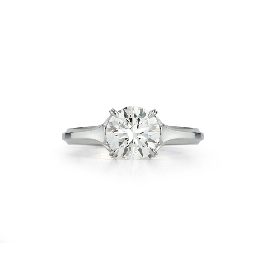 Wildflower Trillium Embrace Engagement Ring