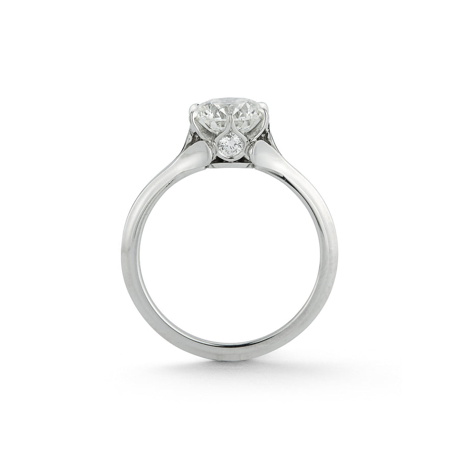 Wildflower Collection Trillium Engagement Ring