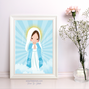 Mary, Mother of God Children's Print