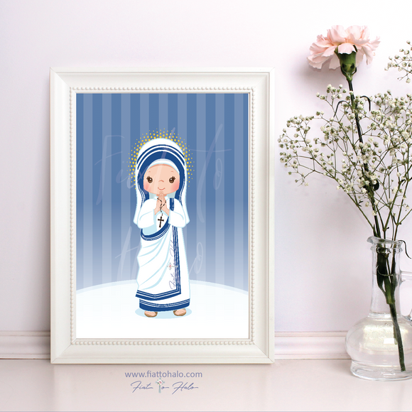 St. Mother Teresa Children's Print