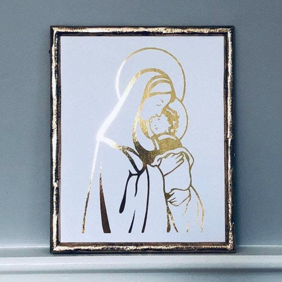 Madonna and the Child Jesus Print