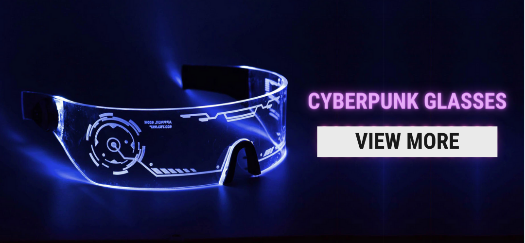 cyberpunk led glasses