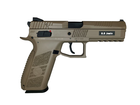ASG CZ P-09 gas blow back airsoft pistol