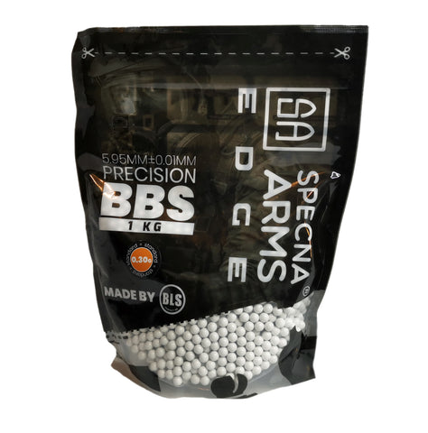 Specna Arms Edge 0.30g 1.0kg bag of precision BBs for airsoft guns