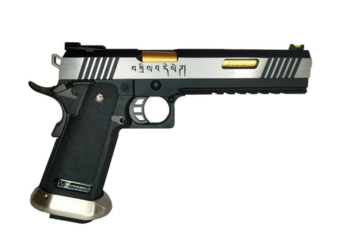 "WE Europe Hi-Capa Force IREX Gas blowback 6"" barrelled airsoft pistol"
