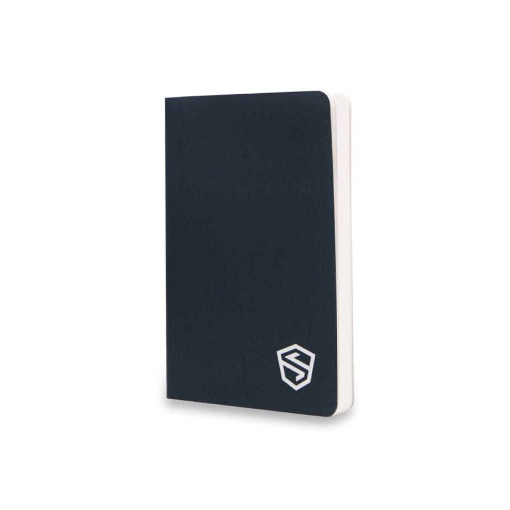 Stonebook ™ Notebook for bitcoin and cryptocurrency private keys and passwords on a white background