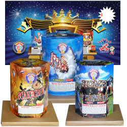 Three Kings | 350G Multishot | Brothers Fireworks