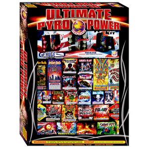Ultimate Pyro Power | Assortment | Firehawk Fireworks