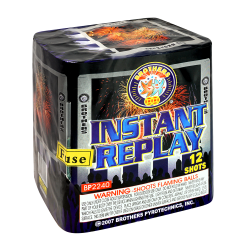Instant Replay | 12 Shot Cake | Brothers Fireworks
