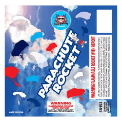 Parachute Rocket | Sky Bacon