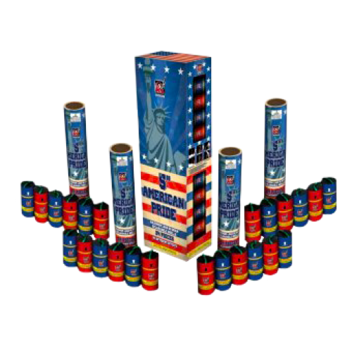 American Pride - 5 inch Canister Shells