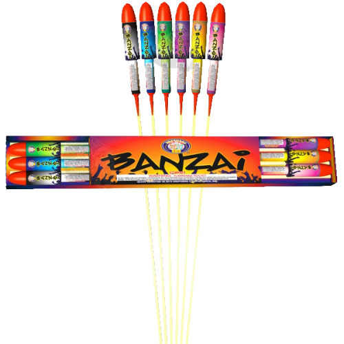 Banzai - Brothers Fireworks