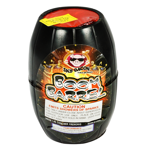 Boom Barrel - Sky Bacon Fireworks