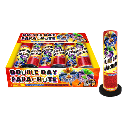 Double Day Parachute - Mighty Max Fireworks