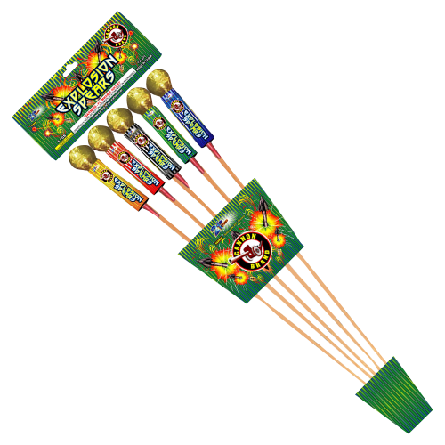 Explosion Spears - Cannon Fireworks
