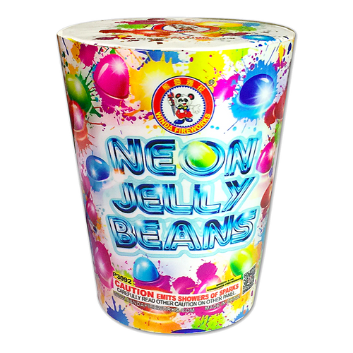 Neon Jelly Beans | Fountains | Winda Fireworks