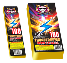Load image into Gallery viewer, Thunderbomb Firecrackers 100s