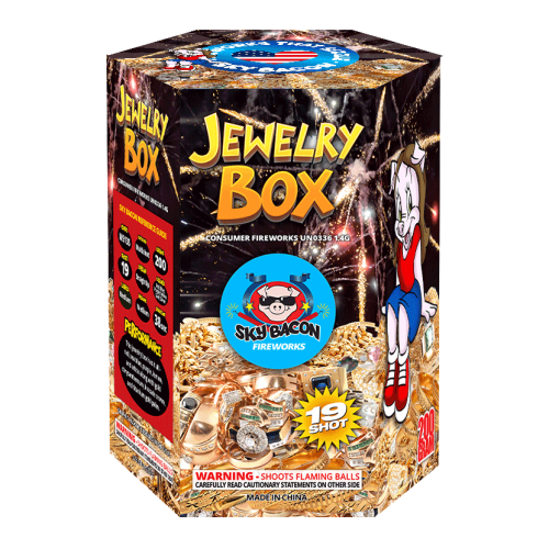 Jewelry Box | 200 Gram Cake | Sky Bacon Fireworks