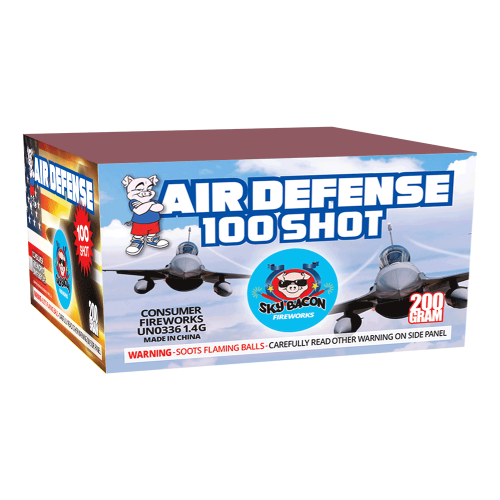 Air defense 100 shot - 200 gram cake