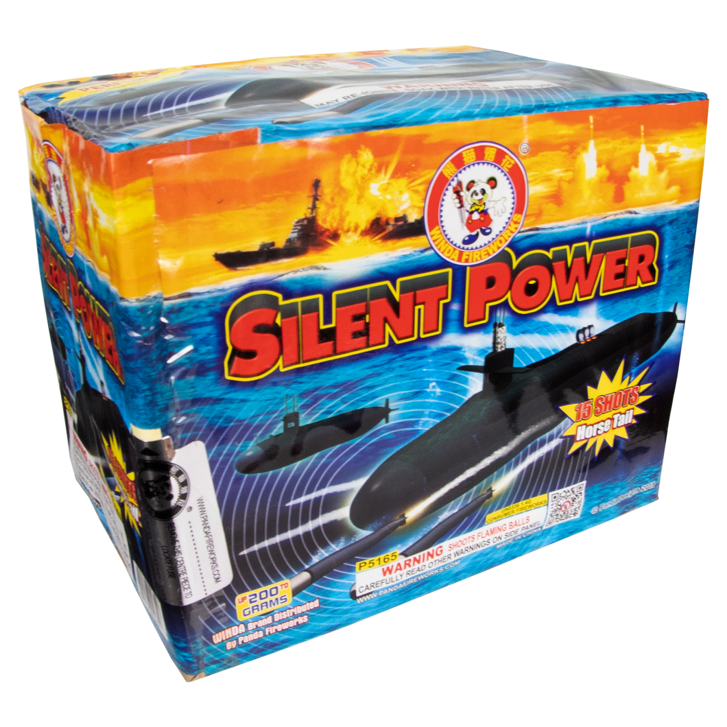 Silent Power | 350G Multishot | Winda Fireworks