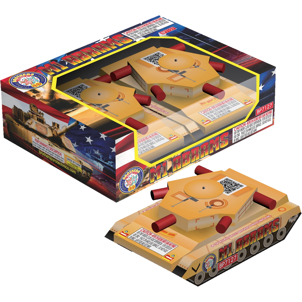 M1 Abrams | Novelties (Ground) | Brothers Fireworks