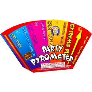 Party Pyrometer | 500G Fountains | Brothers Fireworks